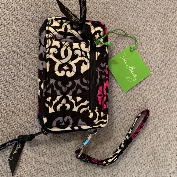 Vera Bradley Handbags - Vera Bradley Canterberry Magenta Wristlet